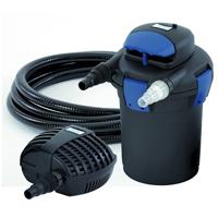 BioPress Set 4000 - Tryckfilterset, Tryckfilter med UVC och filterpump
