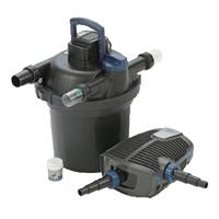 FiltoClear Set 12000 - Tryckfilterset, Tryckfilterset med UVC och patenterad rengöringsfunktion