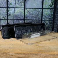 Odlingslåda multi med lock för fönsterodling