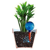 Plantpal krukbevattning, blå-Automatbevattning för krukväxter, blå
