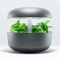 Plantui Smart Garden - inomhusodling, grå-Inomhusodling med hydrokultur-vattenodling Smart Garden