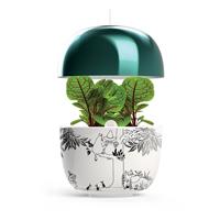 Plantui Moomin Garden 3, turkos-Inomhusodling med hydrokultur-vattenodling Mumin Garden