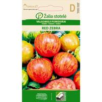 Fröer till Tomat 'Red Zebra'