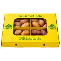 Gourmétlådan, sättpotatis-Gourmetlåda med utvald sättpotatis