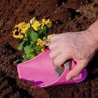 Handdigger - spade, rosa, handspade digger