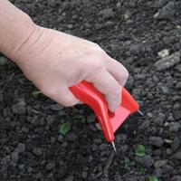 Lucko - Röd, Handredskap för ogräsrensning - Lucko