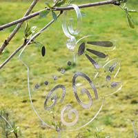 Fågelskrämma, Duva-Fågelskrämma modell fredsdruva
