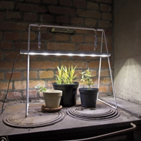 Growlight Duo 20W med stativ,