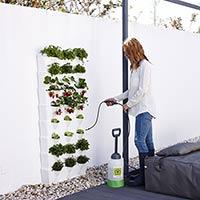 Minigarden Vertical - Kitchen Garden, svart-Vertikalodling till trädgården