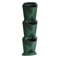 Minigarden Corner - vertikalodling grön-Minigarden corner - vertikal inomhusodling