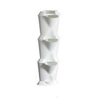 Minigarden Corner - vertikalodling vit,