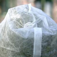 Fiberdukshuv rosskydd vit, 2-pack,