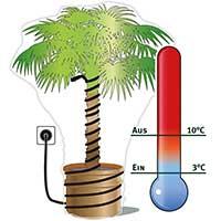 Värmekabel med termostat