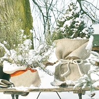 Frostskyddsmatta jutefilt, natur, Frostskyddsmatta vinterskydd
