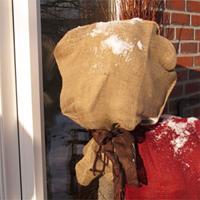 Jutesäck natur-Jutesäck för vinterskydd av växter