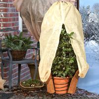Övervintring kruka utomhus med frostskyddskabel
