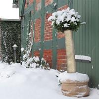 Frostskyddsmatta jutefilt, natur,