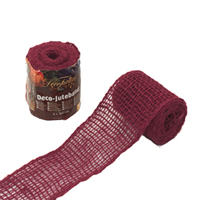 Dekorband jute, blackberry,