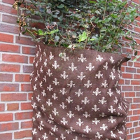 Vinterskydd juteväv, lilja brun/beige,