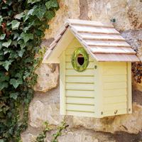 New England fågelholk, Yellow, Fågelhus för småfåglar