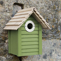 New England fågelholk, Green, Fågelholk, design new england