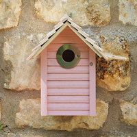 New England fågelholk, Pink, Fågelholk, design new england
