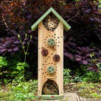 Insekthotell - Big Insect Biome, Insektsholk för solitärbin och andra kryp