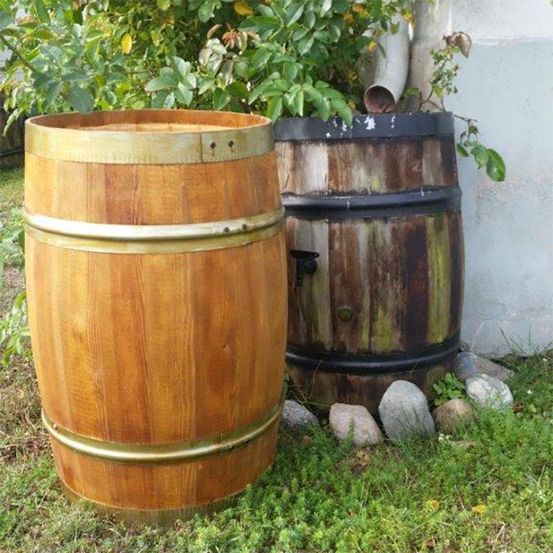 vattentunna trä pris