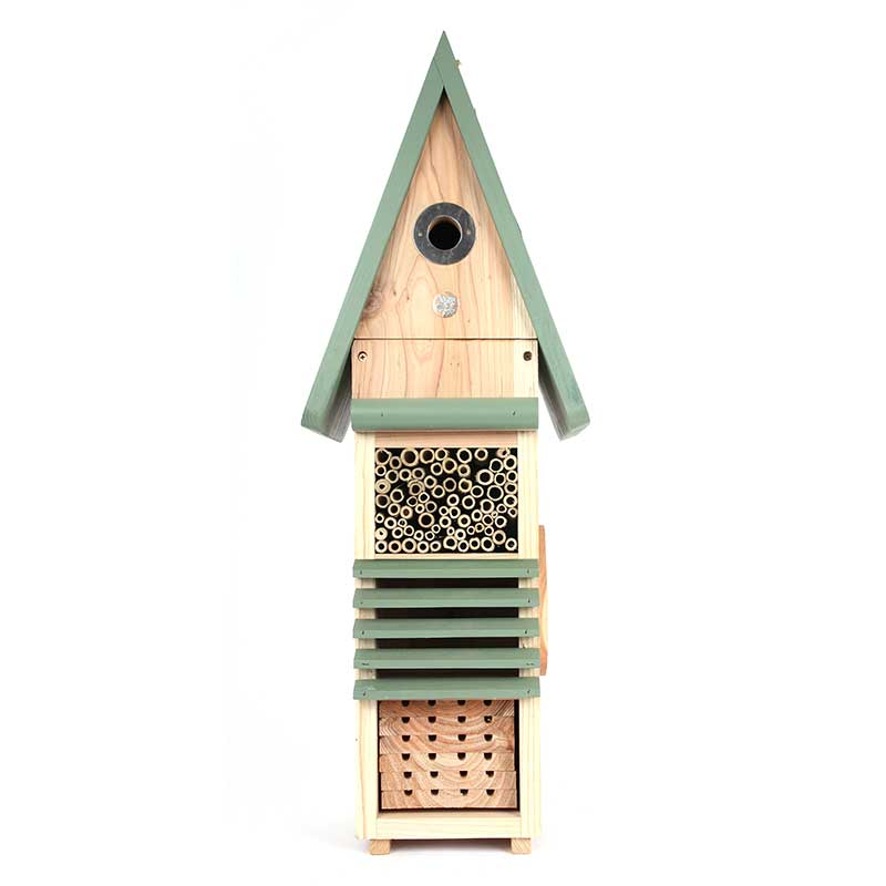Fågel- och insektshotell