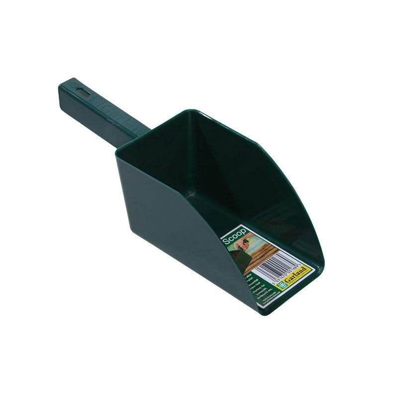 Jordskopa - Garden scoop - grön, Jordskopa i återfunnen plast