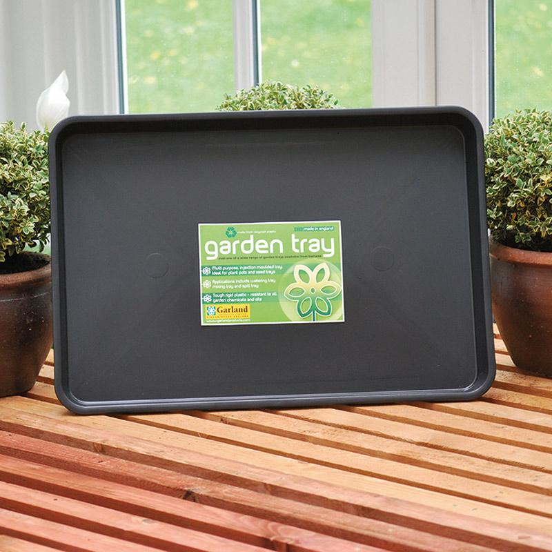 Plantbrickan Standard Garden Tray, Stor plantbricka i stadig plast