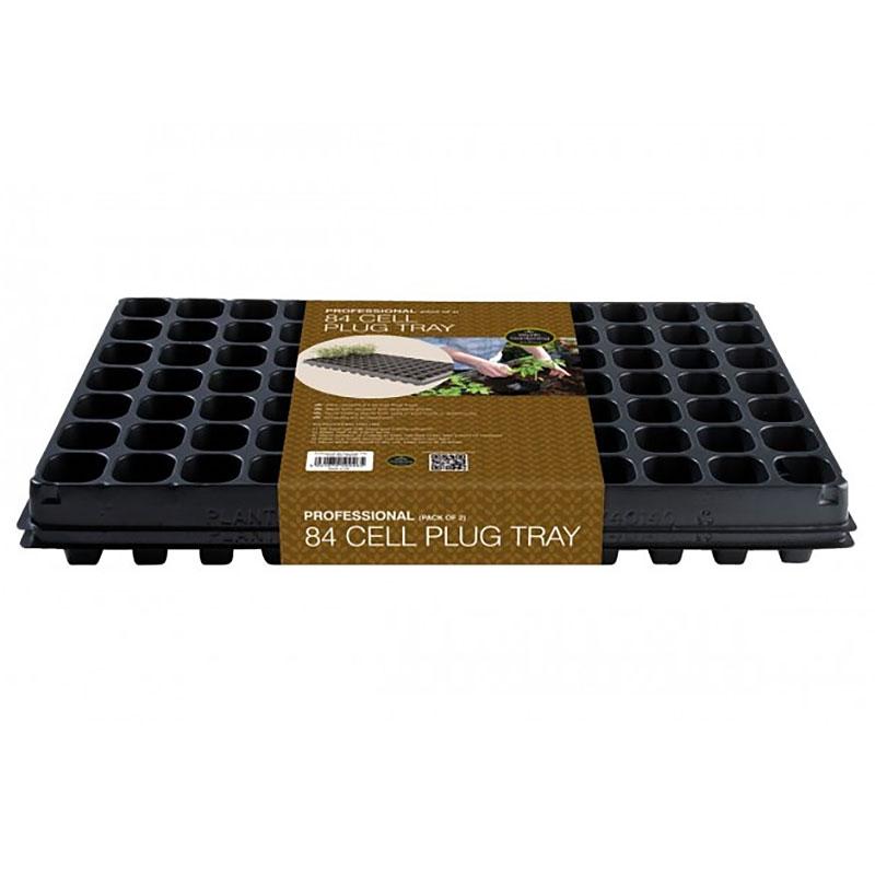 Enkelt pluggbrätte 84 celler, 2-pack, Pluggbricka med 84 celler 2-pack
