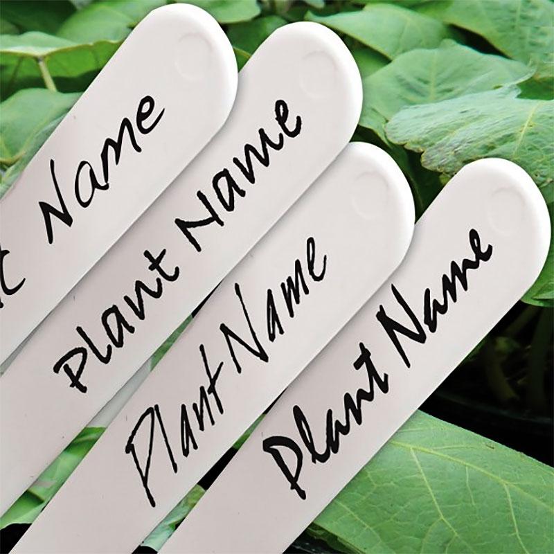 Etikettpenna Garden Marker, svart, Svart penna till växtetiketter