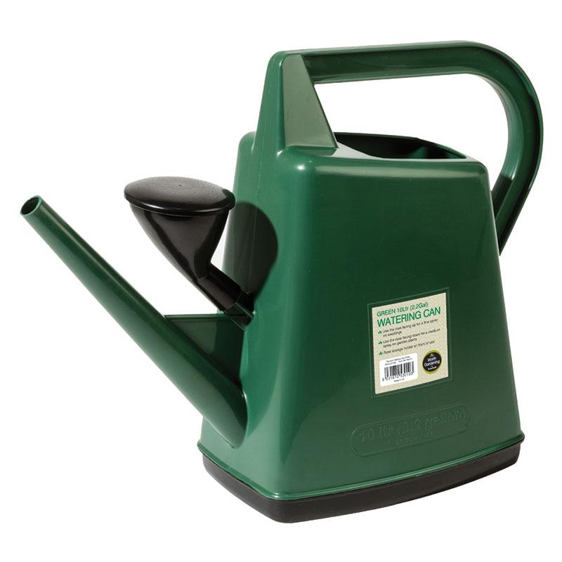 Vattenkanna med stril 10L, grön-Grön vattenkanna 10L