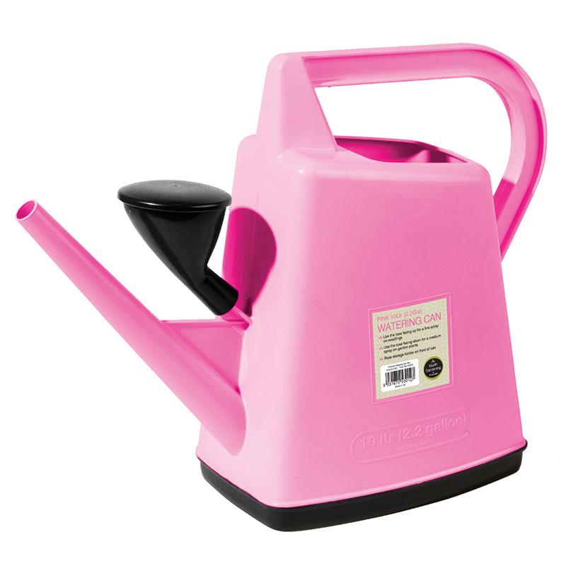 Vattenkanna med stril 10L, rosa-Rosa vattenkanna 10L