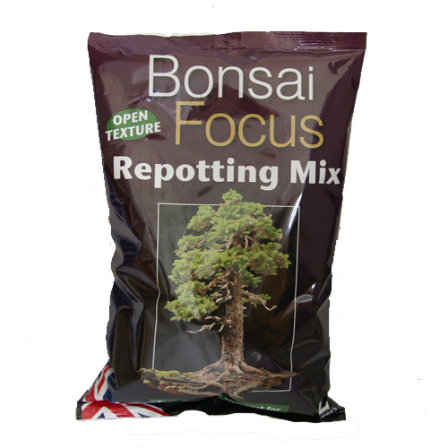 Bonsai Focus - bonsaijord, 2 liter-Bonsai Focus Repotting Mix - specialjord för bonsaier
