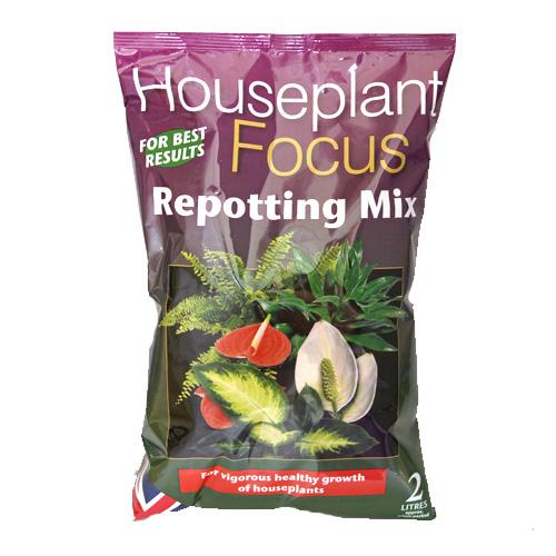 Houseplant Focus - krukväxtjor...-Housplant Focus Repotting Mix - specialjord för krukväxter