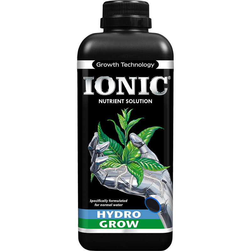 IONIC Hydro Grow, 1 liter, IONIC Grow - näring för hydrokultur