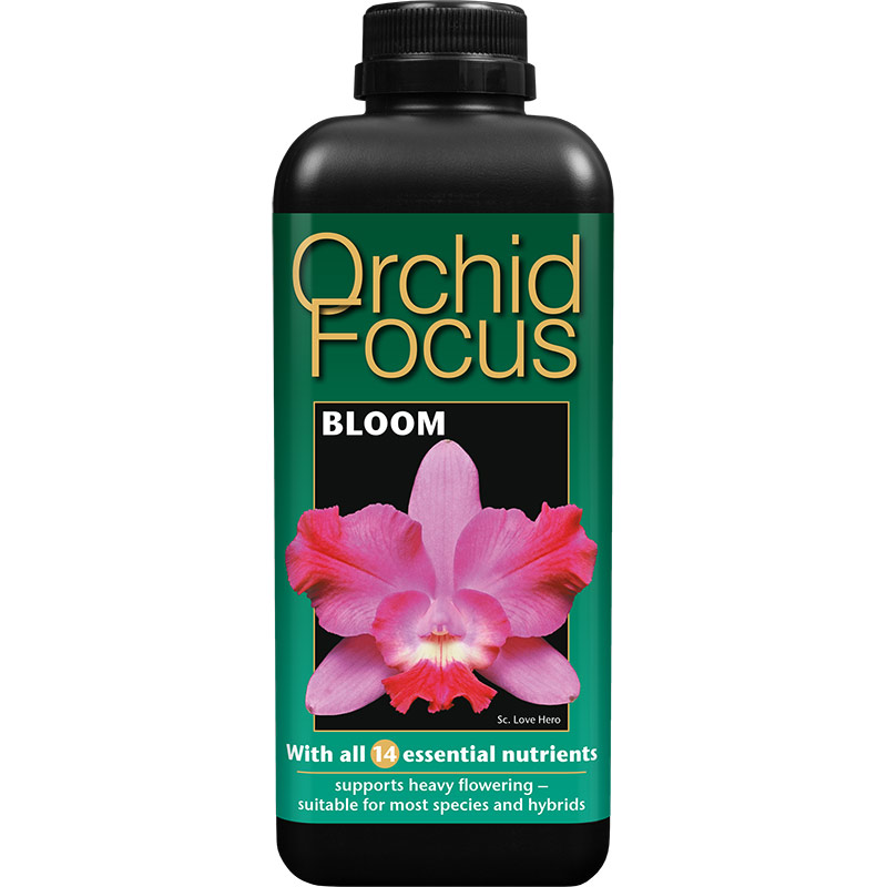 Orkidenäring - Orchid Focus Bloom, 1 liter,