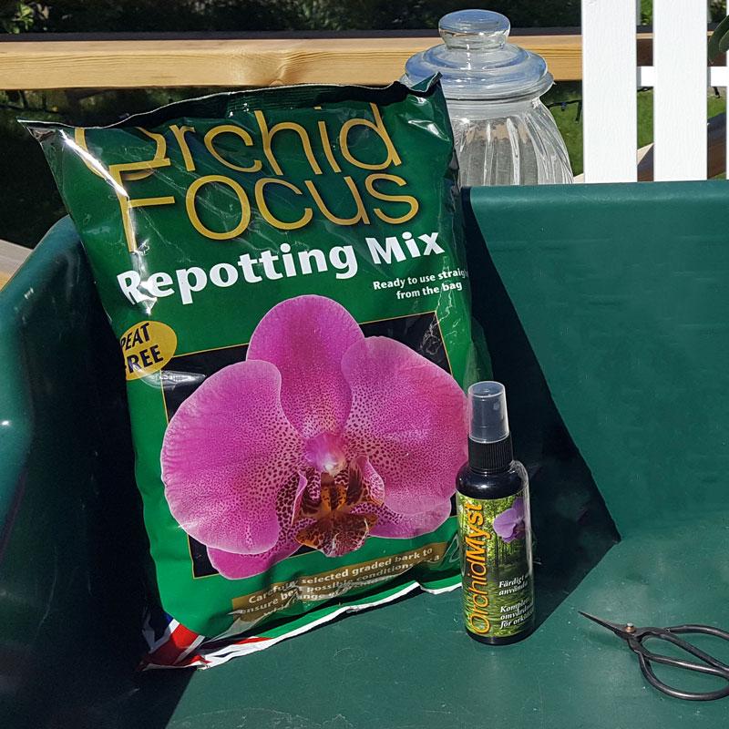 jord till jorkideer - orkidékompost