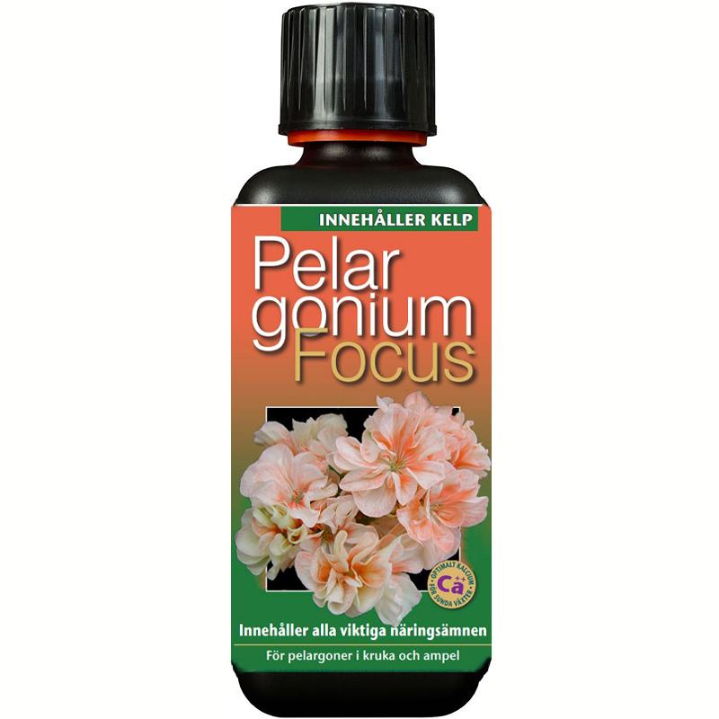 Pelargonnäring - Pelargonium Focus, 300 ml , Gödning till pelargoner Pelargonium Focus
