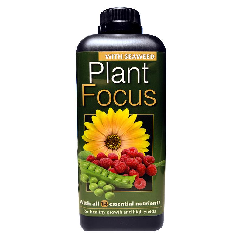 Plant Focus Soft Water, 1 liter,  Komplett näring för krukodling och odlingssäckar