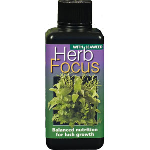 Örtnäring - Herb Focus, 100ml, Specialnäring för örter och kryddväxter