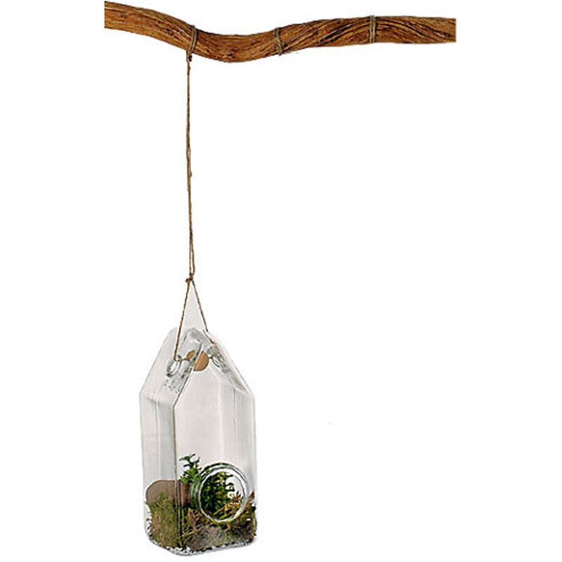 Glashus för upphängning, 20 cm