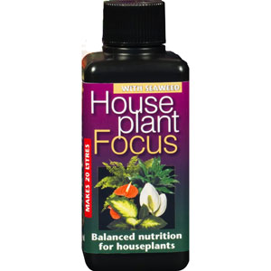 Krukväxtnäring-Houseplant Focus, 100 ml, Krukväxtnäring, gödning till krukväxter