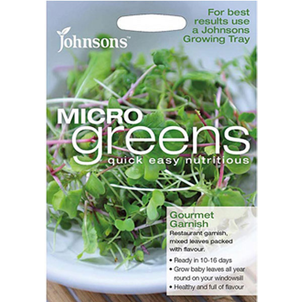 Micro greens - Gourmet Garnish, Gourmetsallad som microblad