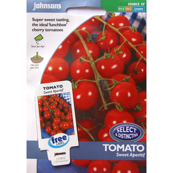 Tomat TOMATO Sweet Aperitif, Frö till Tomat