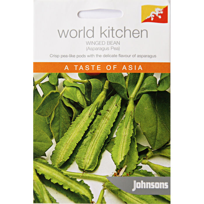 Sparrisärt, WINGED BEAN (Asparagus Pea)-Frö till Sparrisärt