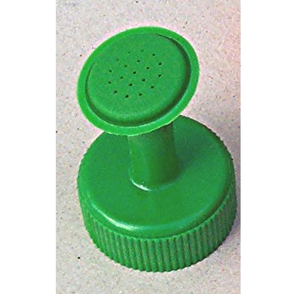Stril till petflaska, grön-Duschmunstycke till petflaska
