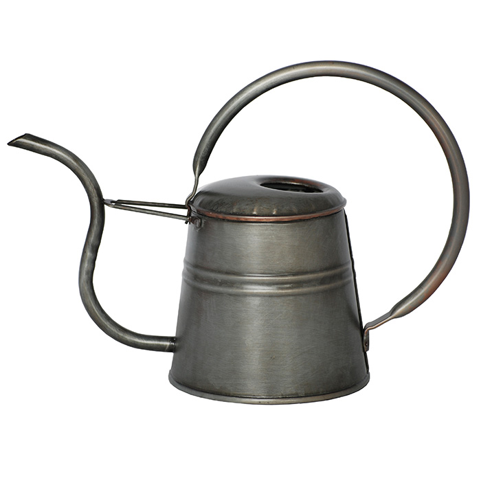 Vattenkanna antik metall 1L-Antikbehandlad vattenkanna 1 liter